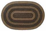Simple yet Classy Farmhouse Jute Rug Oval by VHC Brands