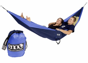 Single Nest Light Backpackers Hammock Navy / Blue Brand Wild Orchid