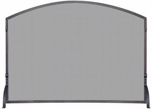 Single Panel Olde World Iron Arch Top Screen, Large by Blue Rhino