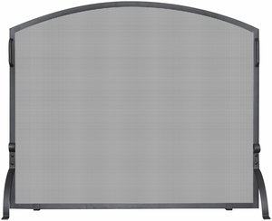 Single Panel Olde World Iron Arch Top Screen, Medium by Blue Rhino
