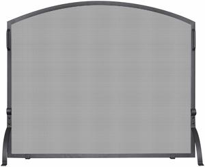 Single Panel Olde World Iron Arch Top Screen, Small by Blue Rhino