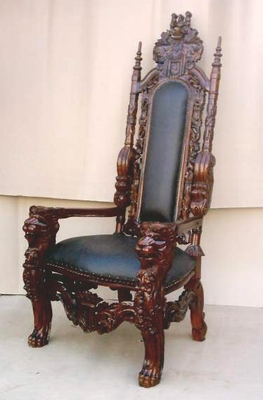 Sisak Lion King Chair, Magnetic And Enigmatic Designer Masterwork by D-Art