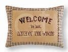 Sleepy Forest Welcome Pillow 14 x20 Inches Brand C&F
