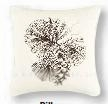 Sleepy Forest White Cone Pillow 18 x18 Inches Brand C&F