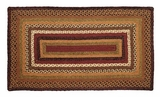 Slick and Magical Tea Cabin Jute Rug Rect by VHC Brands
