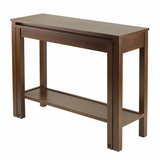 Small And Creative Brandon Expandable Console Table by Winsome Woods