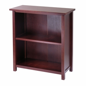 Winsome Wood Smart and Chic 3 Tier Milan Wooden Storage Shelf