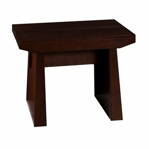 Smart and Chic Capistrano Wooden End Table by Southern Enterprises