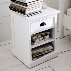 Smart Customary Styled HALIFAX Bedside Table by Infinita