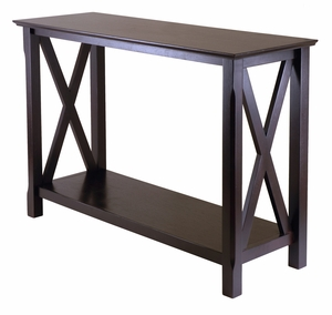 Smart Unique Styled Xola Console Table by Winsome Woods