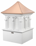 "Smithsonian Alexandria Cupola 36"" x 53"" by Good Directions"