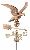 Smithsonian Eagle Weathervane - Polished Copper by Good Directions