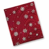 Snowflake Snowfall Quilted Throw Blanket For Your Warm Bed Brand C&F