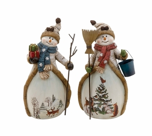 Snowman Holiday Decor 2 Assoorted Holiday Decor