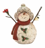 "Snowman Statue 12""H Holiday Decor"
