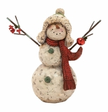 "Snowman Statue 17""H Holiday Decor"