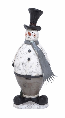 "Snowman Statue 33""H Holiday Decor"