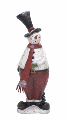 "Snowman Statue 39""H Holiday Decor"
