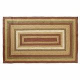 Soft, Chic and Distinct Tea Cabin Jute Rug Rect by VHC Brands
