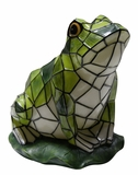Solar Frog Statuary by Alpine Corp