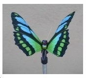 Solar Powered Blue Butterfly Stake Makes The Garden Decor Distinguished Brand Domani