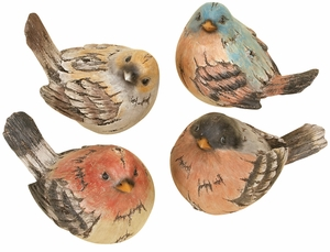 Solid Resin Birds Statue Sculpture Garden Decor in Multicolor Brand Woodland