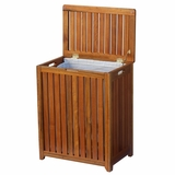 Solid Wood Spa Hamper by Oceanstar