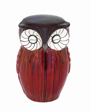 Solingen Fascinating Eccentric Owl Shaped Stool Brand Benzara