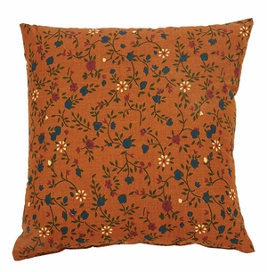 "Somerville Pillow Floral 10x10"" Brand VHC"