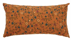 "Somerville Pillow Floral 7x13"" Brand VHC"