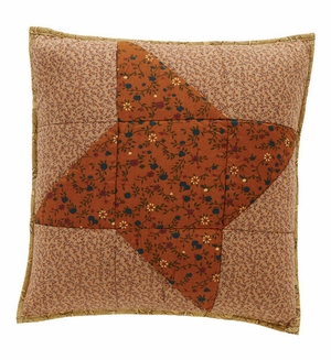 """Somerville Pillow Quilted 16x16"""" Brand VHC"""