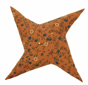 "Somerville Pillow Star Shaped 12x12"" Brand VHC"