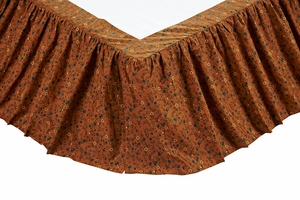 "Somerville Twin Bed Skirt 39x76x16"" Brand VHC"