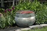 Sonoma Hose Pot - Blue Verde Brass by Good Directions