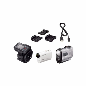 Sony Action Cam 4K With Live View Remote Bun