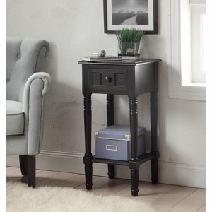 4D Concepts Simplicity End Table (Black)