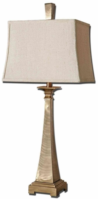 Sordo Metal Table Lamp with Coffee Bronze Finish Brand Uttermost