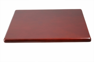 Boss Chair Spacer Table, Mahogany