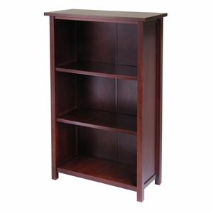 Winsome Wood Spacious & Innovative Milan 4-Tier Medium Storage Shelf
