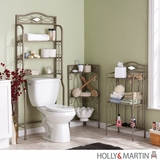 Spacious Piece of Holly & Martin Isabella Bath Storage Collection by Southern Enterprises