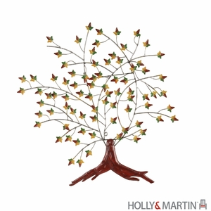 Sparkling Holly & Martin Oliver Wall Art by Southern Enterprises
