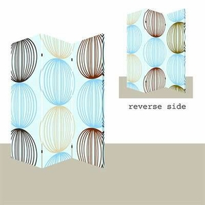 Sphere Screen Wall Decor with Complementary Printed Design Brand Screen Gem