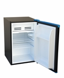 SPT-RF-261B-2.6 cu.ft.-Erase-Board Compact Refrigerator ? Black with Blue Trim by Sunpentown