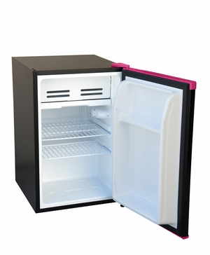 SPT-RF-261P-2.6 cu.ft.-Erase-Board Compact Refrigerator ? Pink by Sunpentown