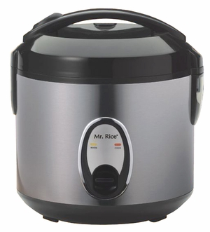 SPT-SC-1201S-6-cups Rice Cooker with Stainless Body by Sunpentown
