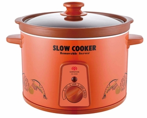 SPT-SC-5355 Zisha Slow Cooker by Sunpentown