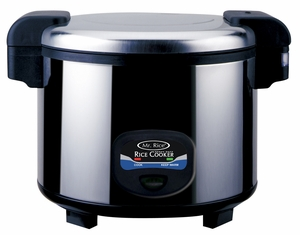 SPT-SC-5400S 35-cups Heavy Duty Rice Cooker by Sunpentown