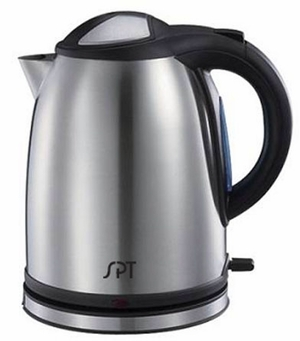 SPT-SK-1268S 1.2L Stainless Cordless Kettle by Sunpentown