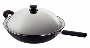 SPT-SK-7361-Superbond Nonstick Wok by Sunpentown