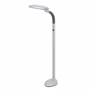 SPT-SL-812 Easy Eye Energy Saving Floor Lamp with Ionizer (2-tube) by Sunpentown